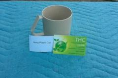Hemp plastic cup
