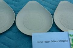 Hemp plastic various grades