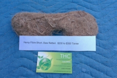 Hemp fibre long dew retted